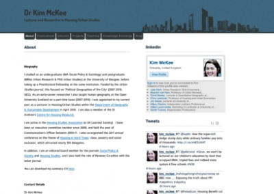 Dr.Kim Mckee's WordPress Blog